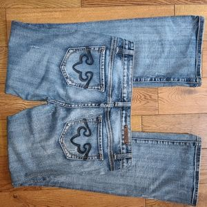 Rerock for Express Jeans, Size 10 R, Boot cut